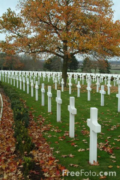 Picture of Cambridge American Cemetery and Memorial, England - Free Pictures - FreeFoto.com