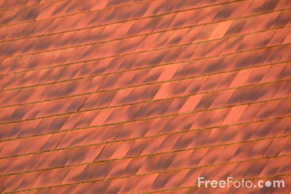 Picture of Roof Tiles - Free Pictures - FreeFoto.com