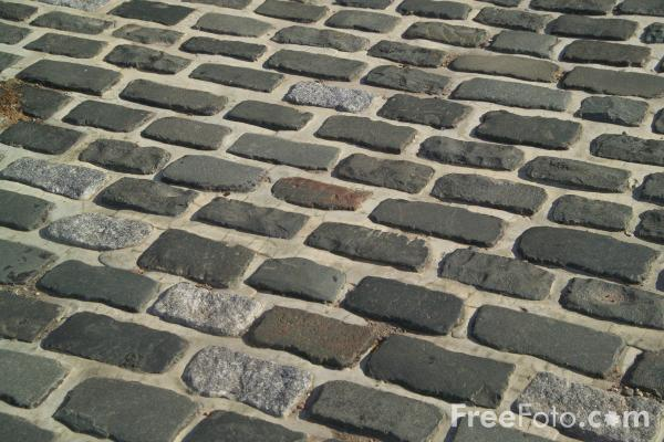 Picture of Stone Cobbles - Free Pictures - FreeFoto.com