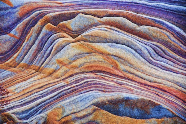 Picture of Rock Patterns - Free Pictures - FreeFoto.com