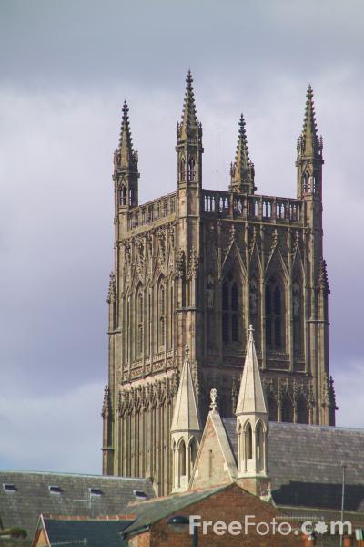 Picture of Worcester Cathedral - Free Pictures - FreeFoto.com