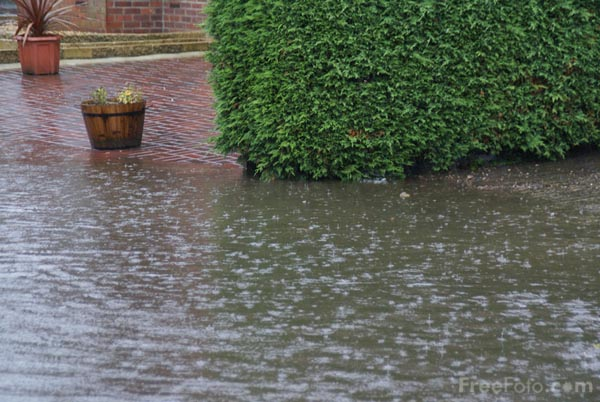 Picture of Flooding, Leeming, North Yorkshire - Free Pictures - FreeFoto.com