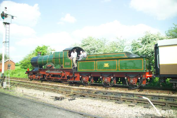 Picture of GWR City 4-4-0 3440 City of Truro - Free Pictures - FreeFoto.com