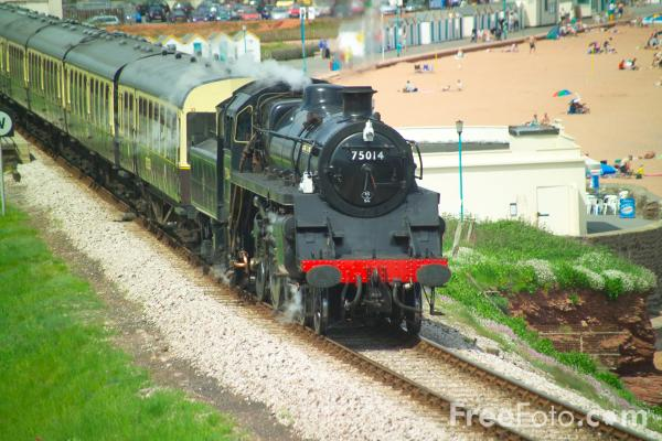 Picture of BR class 4MT 4-6-0 no 75014 - Free Pictures - FreeFoto.com