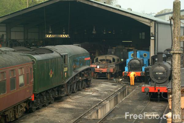 Picture of LNER Class A4 4488 Union of South Africa - Free Pictures - FreeFoto.com
