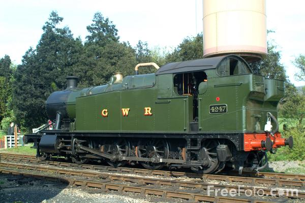 Picture of GWR Class 4200 2-8-0T No 4247 - Free Pictures - FreeFoto.com