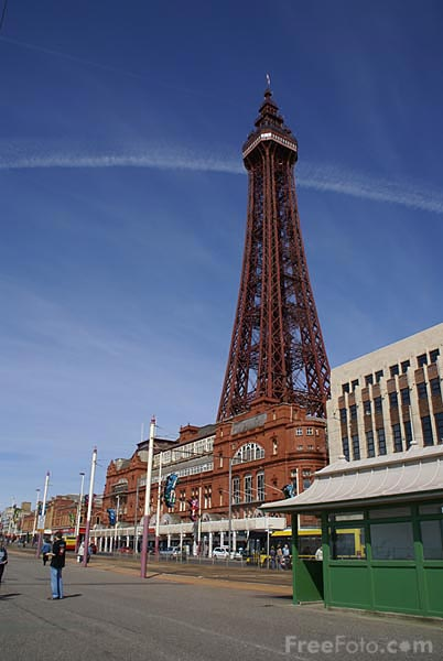 Picture of Blackpool Tower - Free Pictures - FreeFoto.com