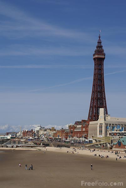 Picture of Blackpool - Free Pictures - FreeFoto.com
