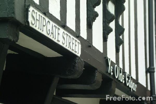 Picture of Ye Olde Edgar, Shipgate Street, Chester - Free Pictures - FreeFoto.com