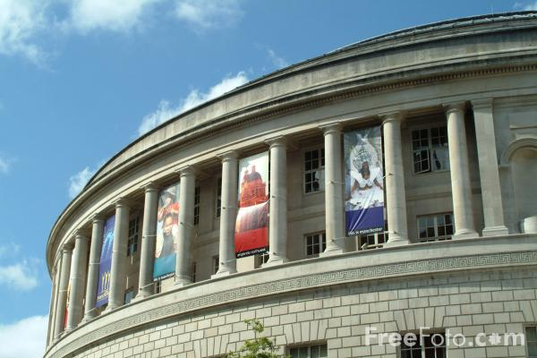 Picture of Central Library, St Peter's Square, Manchester - Free Pictures - FreeFoto.com