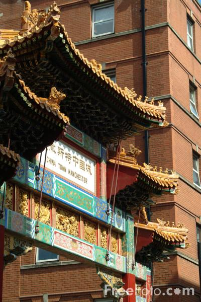 Picture of Chinatown, Manchester - Free Pictures - FreeFoto.com