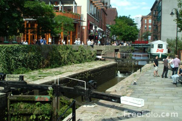 Picture of Bridgewater Canal, Manchester - Free Pictures - FreeFoto.com