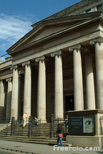 Picture of Manchester Art Gallery, Mosley Street, Manchester - Free Pictures - FreeFoto.com