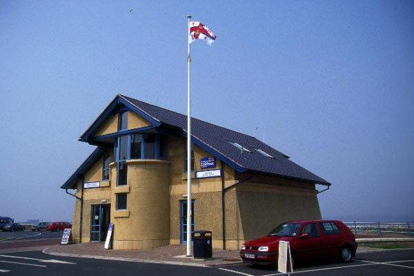 Picture of RNLI Lifeboat Station, Morecambe - Free Pictures - FreeFoto.com
