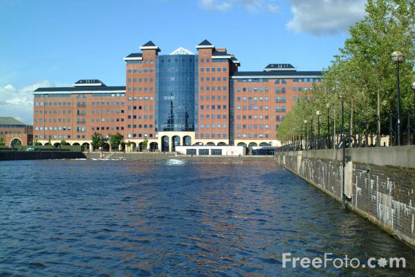 Picture of Salford Quays, Manchester - Free Pictures - FreeFoto.com