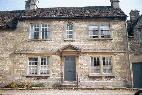 Picture of Traditional Stone House, Lacock - Free Pictures - FreeFoto.com