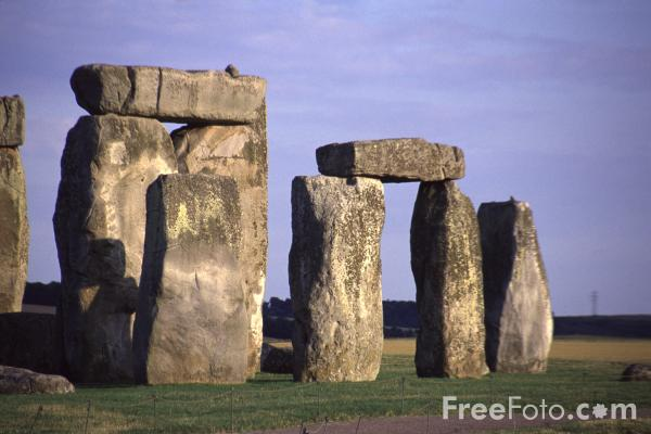 Stonehenge - World Heritage Site pictures, free use image, 38-09-6 ...