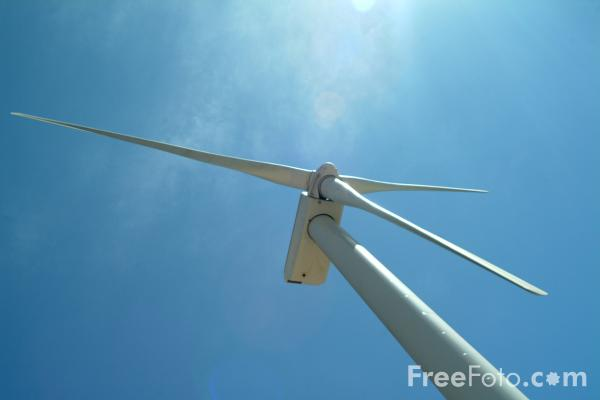 Picture of Wind Turbine Generators, Palm Springs, California - Free Pictures - FreeFoto.com