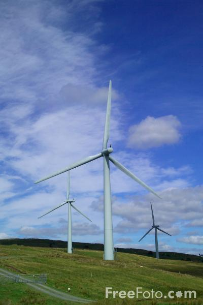 Picture of Lambrigg Wind Farm, Cumbria - Free Pictures - FreeFoto.com