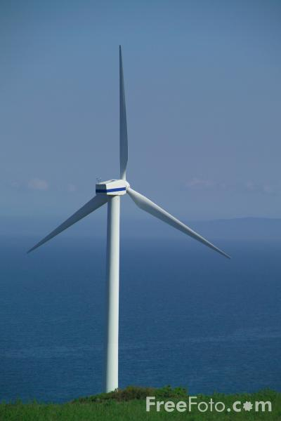 Picture of Wind Turbine, Lowca, Workington, Cumbria - Free Pictures - FreeFoto.com