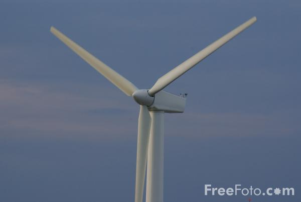 Picture of Great Lakes Science Center Wind Turbine - Free Pictures - FreeFoto.com