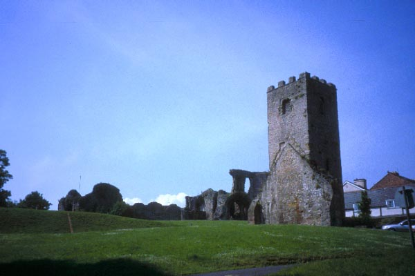 Picture of Denbigh Castle - Free Pictures - FreeFoto.com