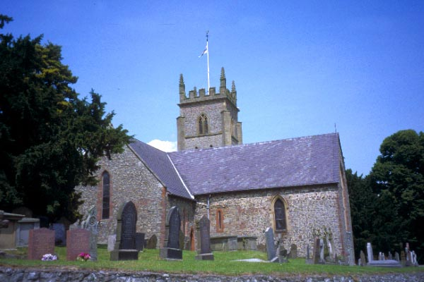 Picture of St Nicholas Church, Montgomery - Free Pictures - FreeFoto.com