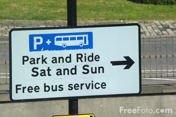 Picture of Park and Ride - Free Pictures - FreeFoto.com