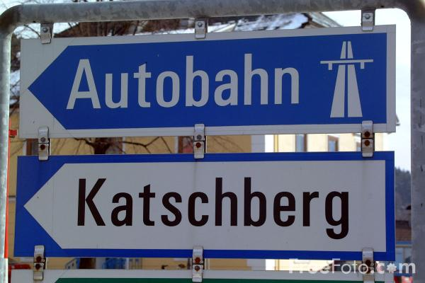 Picture of Autobahn - Free Pictures - FreeFoto.com