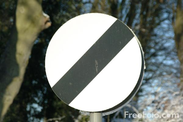 Picture of National speed limit applies - Free Pictures - FreeFoto.com