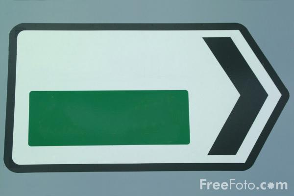 Picture of Road Sign - Free Pictures - FreeFoto.com