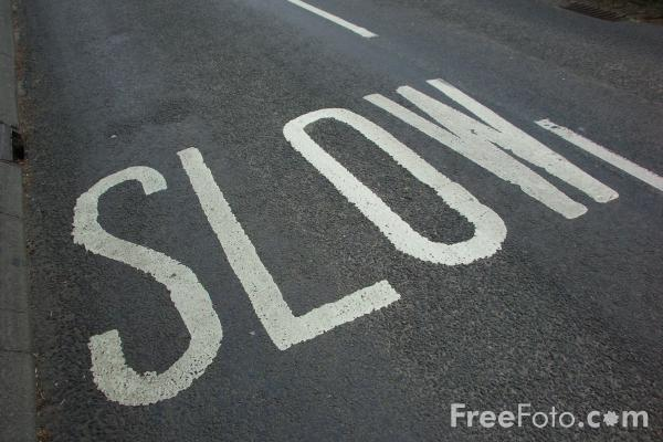 Picture of Slow Down - Free Pictures - FreeFoto.com