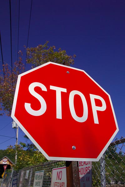 Picture of Stop Sign - Free Pictures - FreeFoto.com