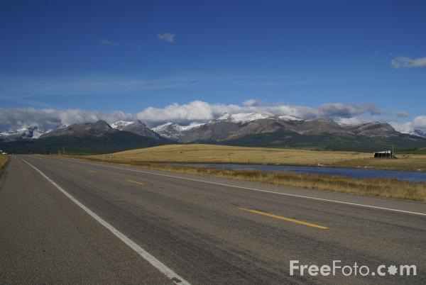 Picture of American highway / road USA - Free Pictures - FreeFoto.com