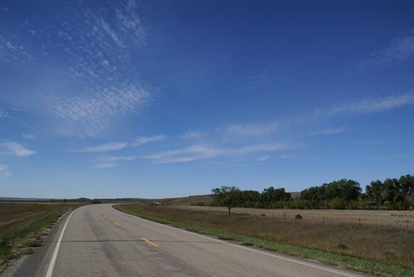Picture of American highway / road - Free Pictures - FreeFoto.com