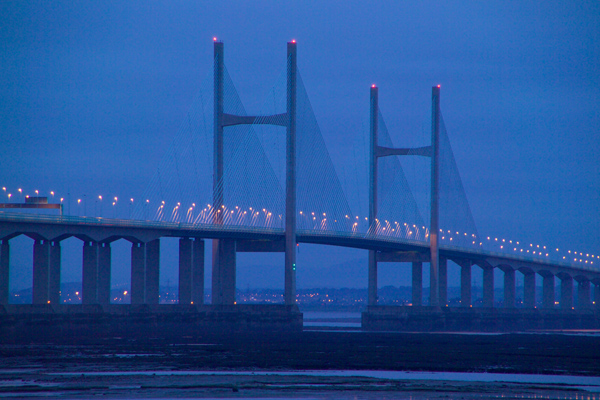 Picture of The New Severn Bridge - Free Pictures - FreeFoto.com