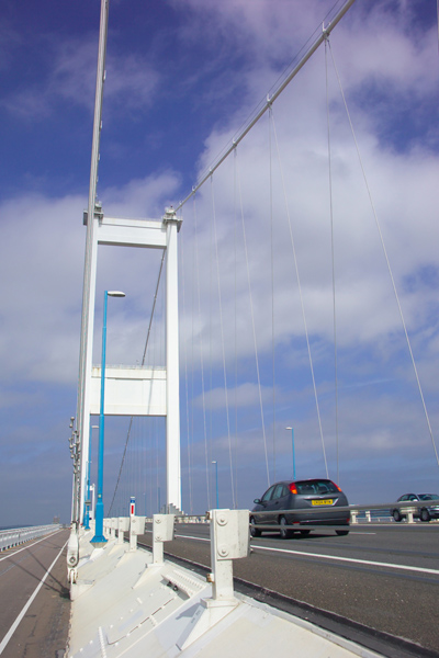 Picture of The Old Severn Bridge - Free Pictures - FreeFoto.com
