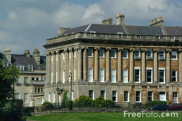 Picture of The Royal Crescent, Bath - Free Pictures - FreeFoto.com