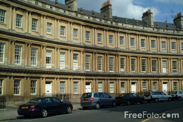 Picture of The Circus, Bath - Free Pictures - FreeFoto.com