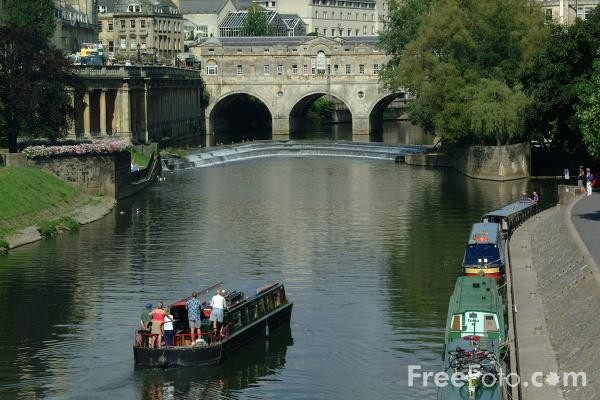 Picture of River Avon, Bath - Free Pictures - FreeFoto.com