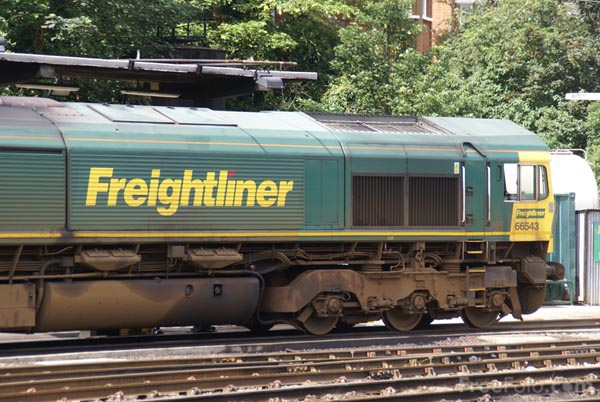 Picture of Freightliner Class 66 - Free Pictures - FreeFoto.com