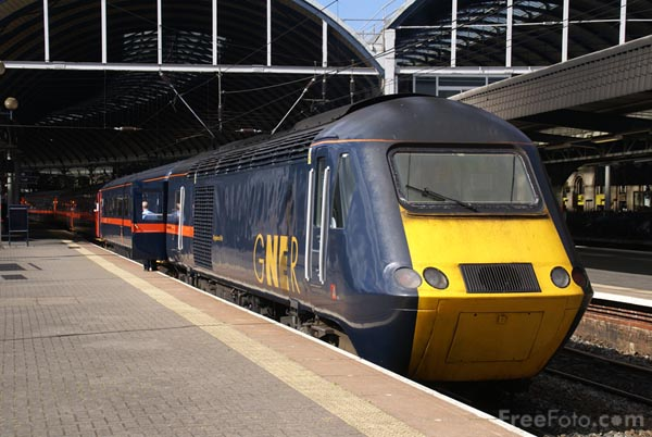 Picture of Great North Eastern Railway - Free Pictures - FreeFoto.com