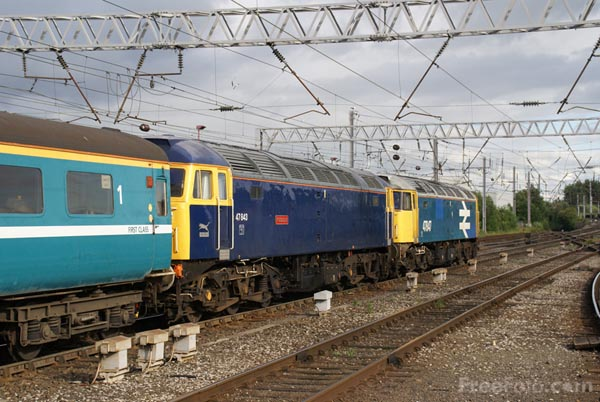 Picture of Riviera Trains Class 47 - Free Pictures - FreeFoto.com
