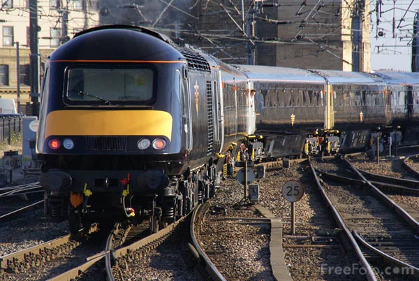 Grand Central Railway HST on its first test run pictures, free use ...