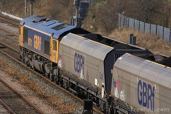 Picture of GBRf class 66 66711 - Free Pictures - FreeFoto.com