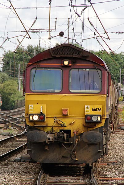 Picture of EWS Class 66 66126 - Free Pictures - FreeFoto.com
