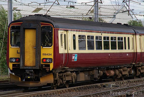Picture of SPT Rail Class 156 DMU - Free Pictures - FreeFoto.com