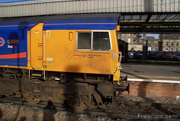 Picture of Metronet Class 66 66722 Sir Edward Watkin - Free Pictures - FreeFoto.com