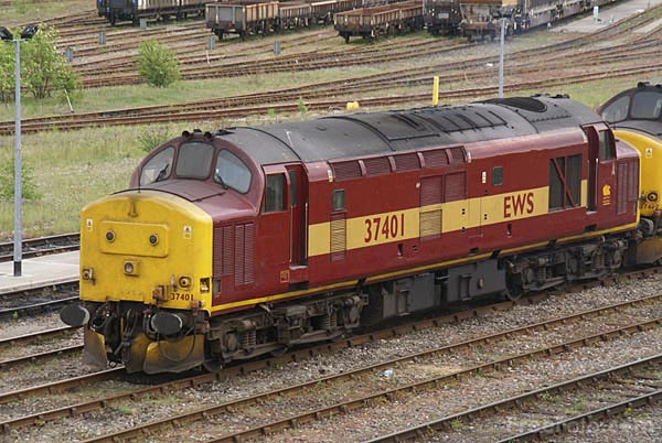 Picture of EWS Class 37 37401 - Free Pictures - FreeFoto.com