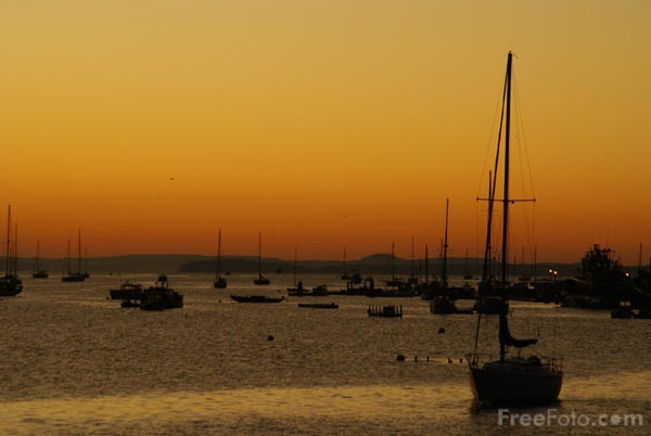 Picture of Sunrise, Belfast, Maine - Free Pictures - FreeFoto.com